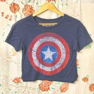 Marvel Crop Top